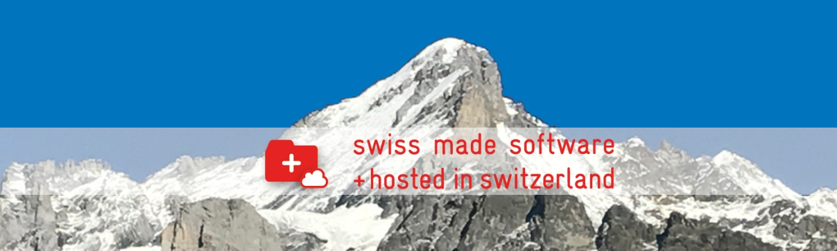 swiss made software + hosted in switzerland - Label